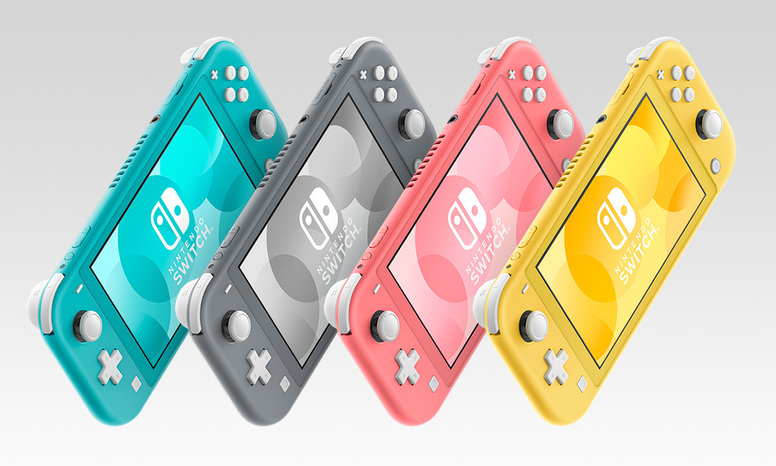 Nintendo Switch Lite 珊瑚色新款式主机 3 月 20 日推出插图2